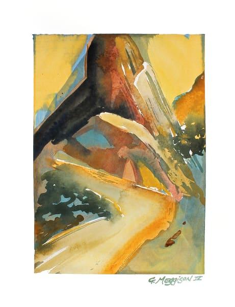 Outback   Abstract Watercolors   Gordon Meggison IV