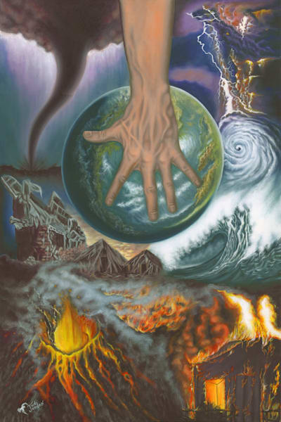 """God Rules The Heavens"" by Judi Jordan | Prophetics Gallery"