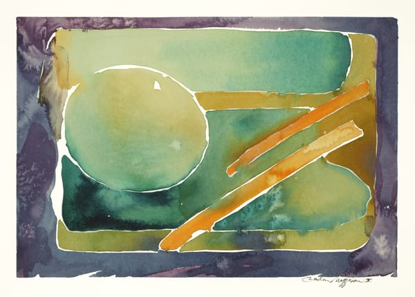 Omnipresence | Abstract Watercolors | Gordon Meggison IV