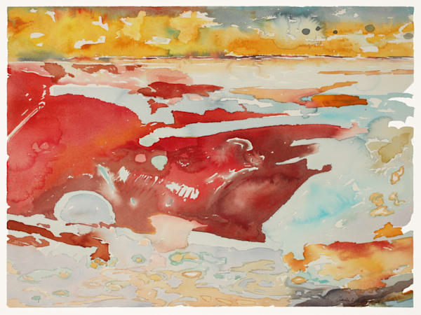 Mysterium | Contemporary Abstract Watercolors | Gordon Meggison IV