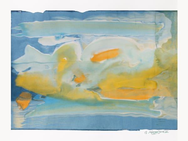 Wave Encounter | Contemporary Abstract Watercolors | Gordon Meggison IV