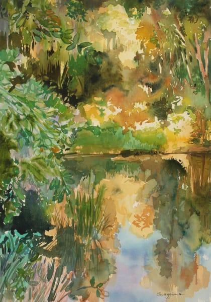 Kingsley Pond | Watercolor Landscapes | Gordon Meggison IV