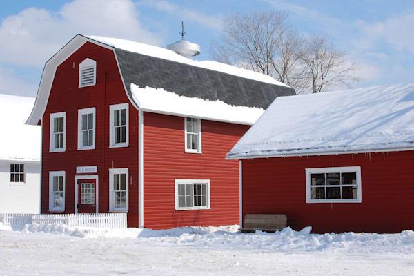 """Milkhouse in Winter"""