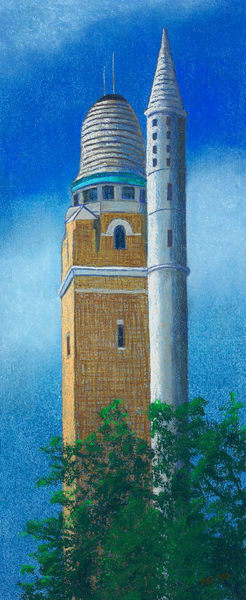 Historic Compton Water Tower, St Louis