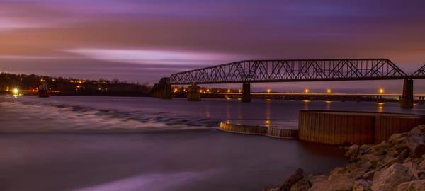 Historic Chain of Rocks Bridge, St Louis