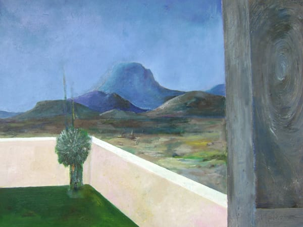 Santiago Peak From The Doorstep