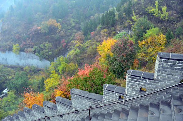 Great Wall of China--a colorful perspective