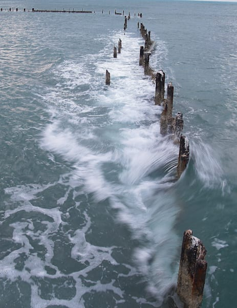 .Old Pier Missing