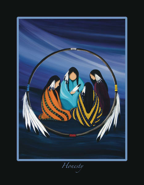 7 Grandfather Teachings - Honesty by Wabimeguil