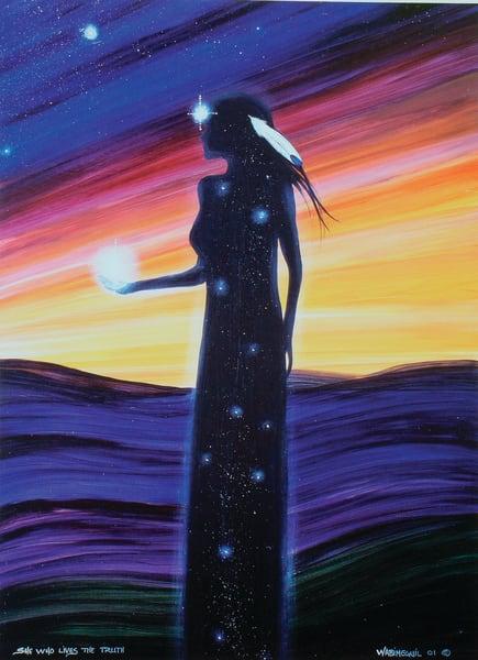 Grandmother Moon Teachings - September Moon by Wabimeguil