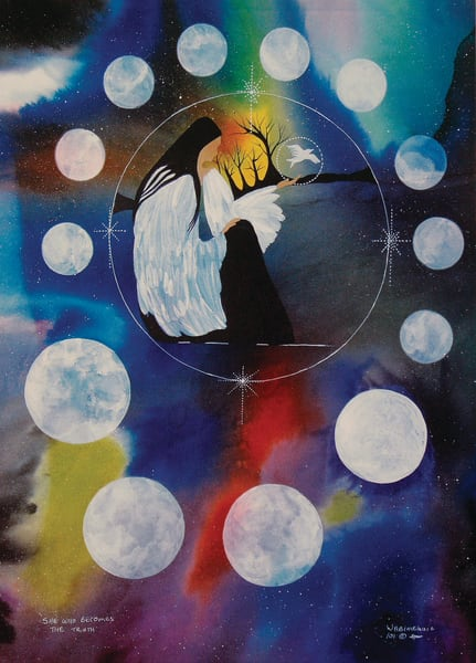 """Grandmother Moon Teachings - The 13th Moon, """"Becoming the Truth"""" by Wabimeguil"""