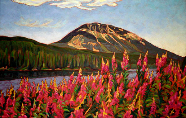 Nadina Mountain -painting-Canadian Artist Sherry Nielsen