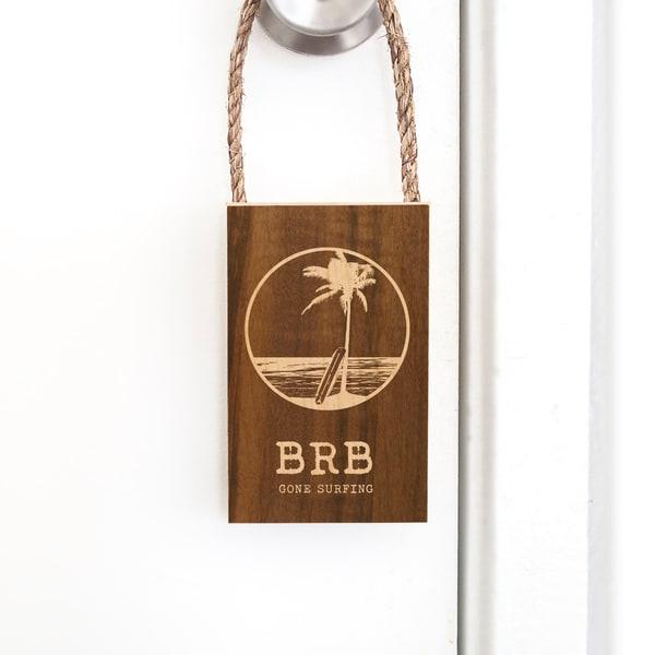 Door Hangers  |  Be Right Back - Gone Surfing