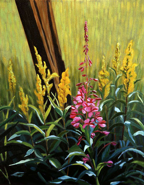 Fireweed & Golden Rod - Sherry Nielsen - Smithers