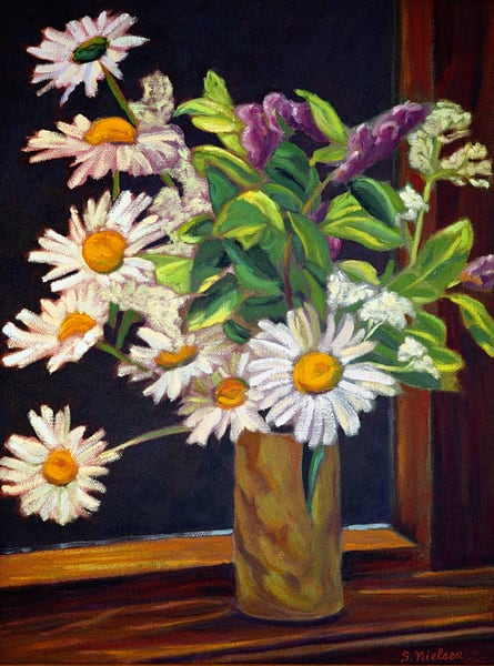 Daisies - Sherry Nielsen Art - Smithers BC
