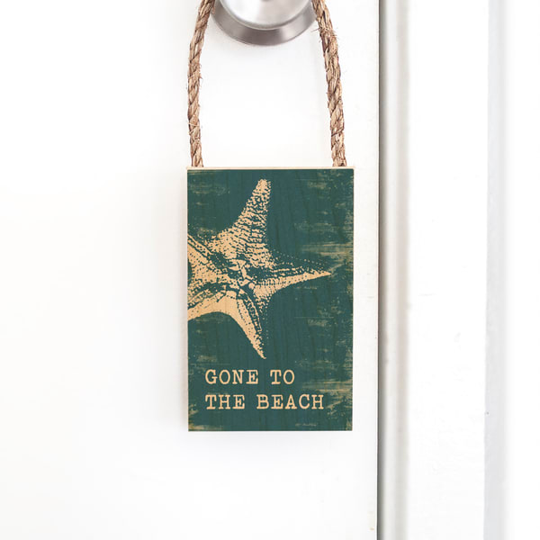 Door Hangers  |  Gone to the Beach