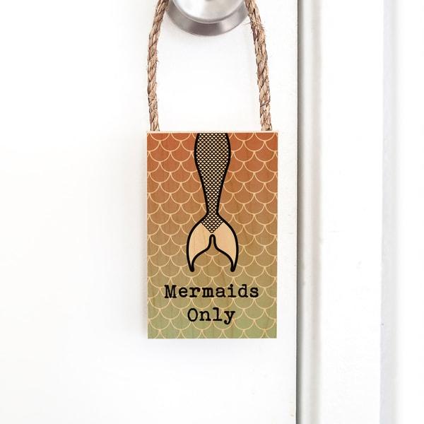 Door Hangers  |  Mermaids Only