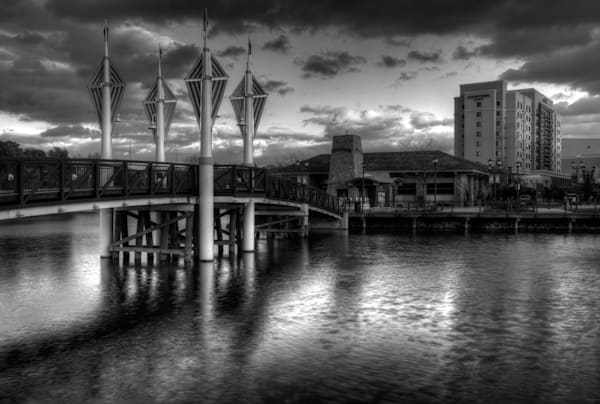 Fine Art Photograph of Downtown Gaithersburg by Michael Pucciarelli