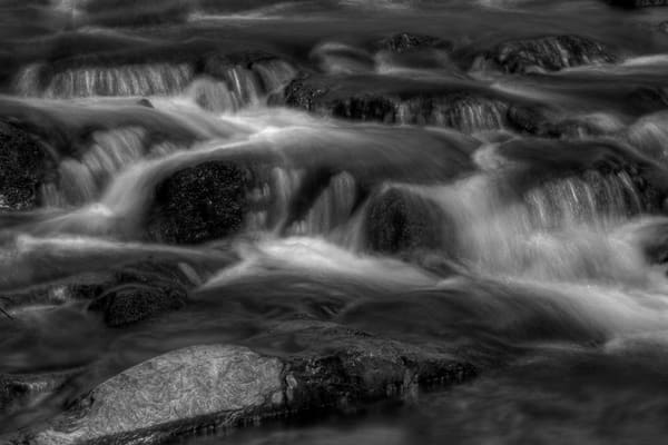 Kilgore Falls Fine Art Black and White Photograph by Michael Pucciarelli