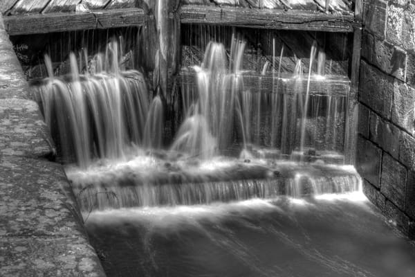 Fine Art Black and White Photographs of Great Falls Waterfall by Michael Pucciarelli