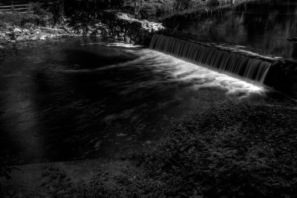 Fine Art Black and White Photographs of Rock Creek by Michael Pucciarelli