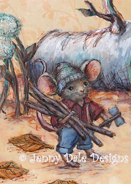 Lumberjack Woodland Mouse
