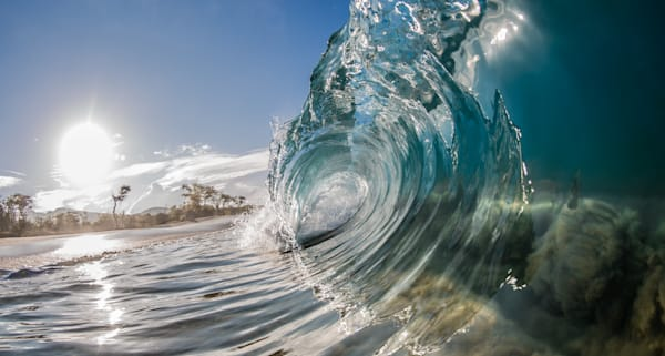 Ocean Photography | Over Under by Jaysen Patao