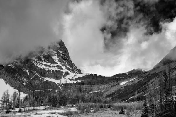 Temple - Coming of the White.Canadian Rockies|Banff National Park|