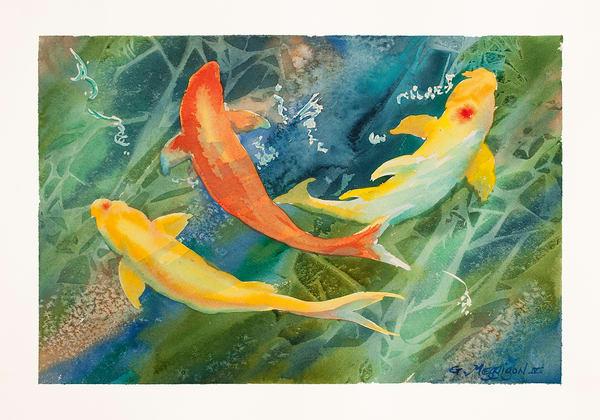 Breathing Underwater   Zen Landscapes   Gordon Meggison IV