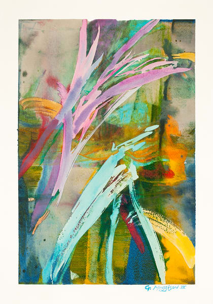Song of Sophia | Contemporary Abstracts Watercolors | Gordon Meggison IV