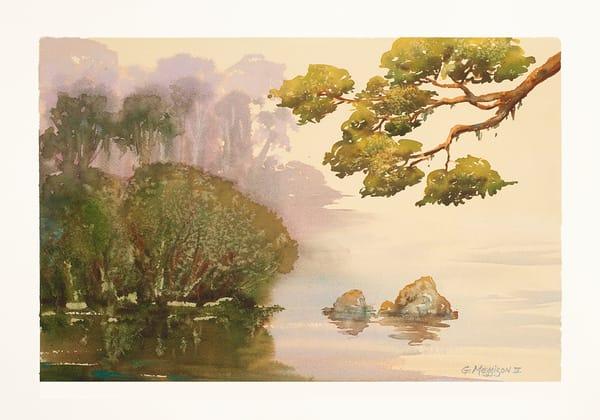 Mist of Avalon   Watercolor landscapes   Gordon Meggison IV