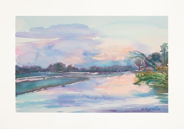 On Now and Zen   Watercolor Landscapes   Gordon Meggison IV