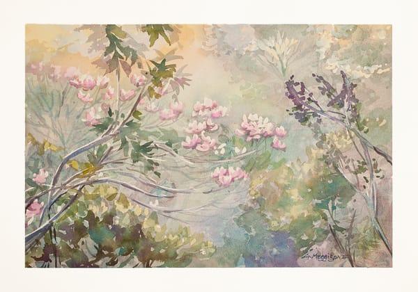 In the Garden of Zephirus | Watercolor Landscapes | Gordon Meggison IV