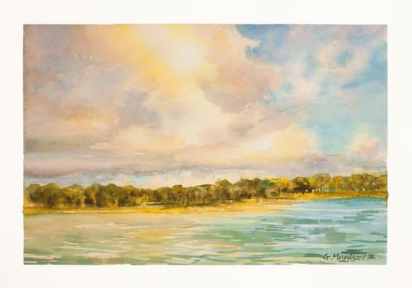 Intracoastal Evening Light   Watercolor Landscapes   Gordon Meggison IV