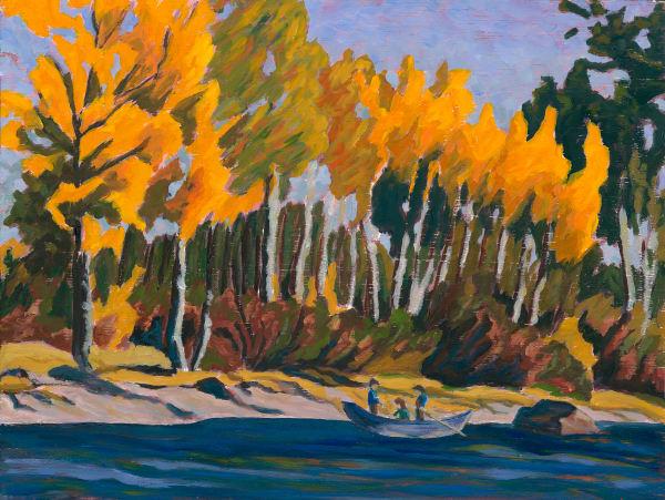 Fall Delight - Bulkley Valley, Canadian artist Sherry Nielsen.