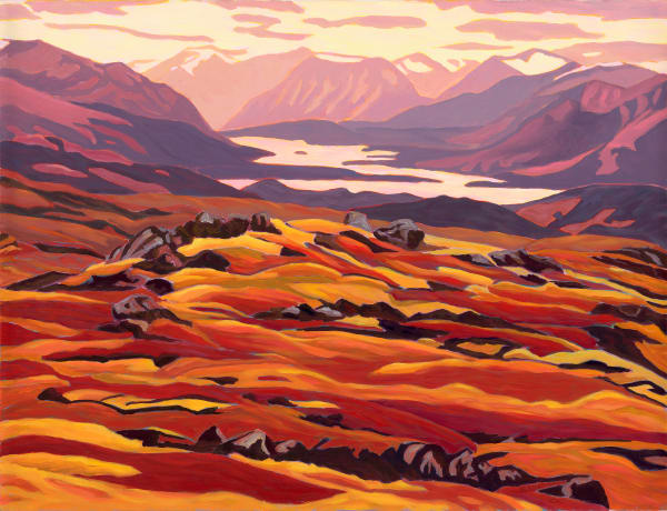 Yukon & NWT landscape art - Canadian Artist Sherry Nielsen - prints, originals