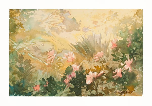 Light in the Garden | Watercolor Landscapes | Gordon Meggison IV