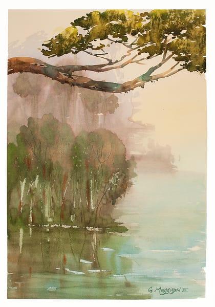 Suspended | Watercolor landscapes | Gordon Meggison IV