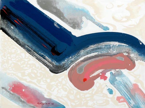 Calligraphic | Abstract Acrylic Mixed Media | Gordon Meggison IV