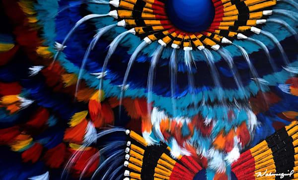 Native American Male Powwow Dancer