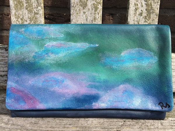 """Promise"" hand painted handbag by Rebecca Siccama"
