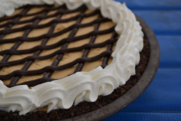 Photograph of a peanut butter pie for sale as Fine Art