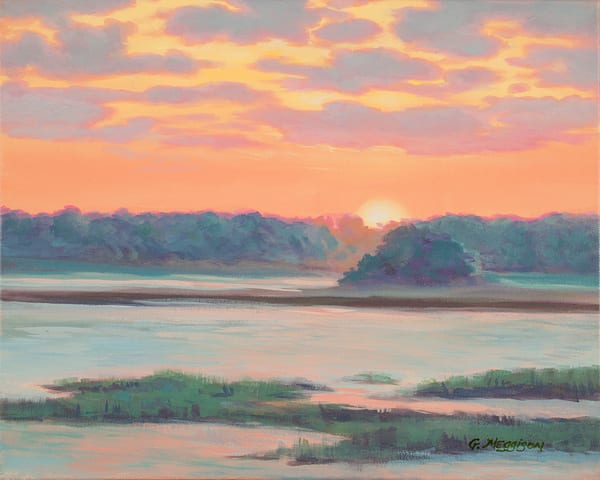 Sunset on Amelia River | Zen Landscapes | Gordon Meggison IV