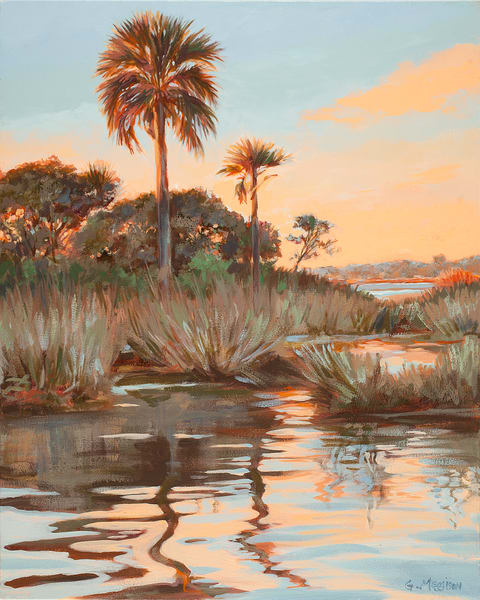 Guana Sunrise | Contemporary Landscapes | Gordon Meggison IV
