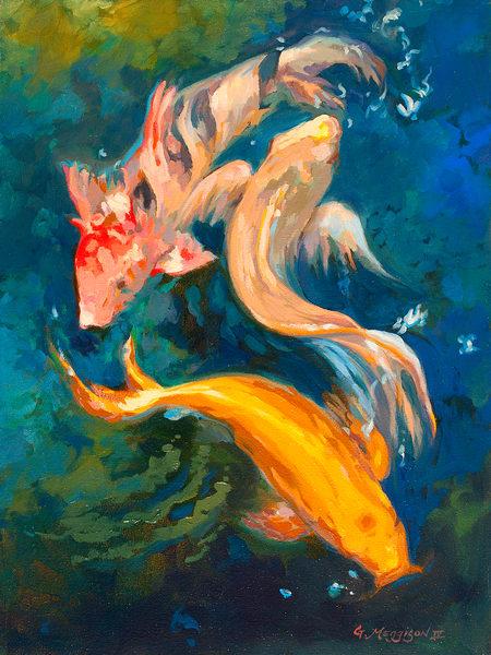 Creatures of Color   Zen Landscapes   Gordon Meggison IV