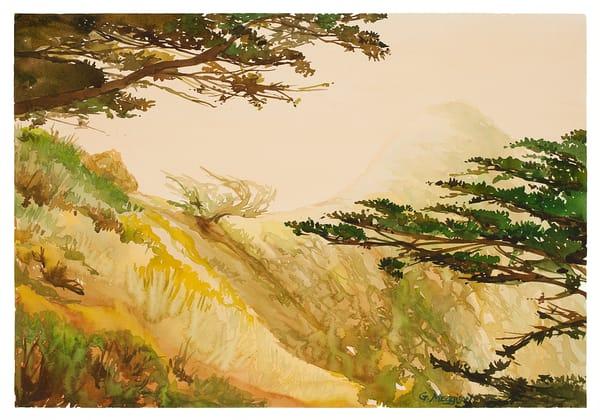 Near McWay Falls | Zen Landscapes | Gordon Meggison IV