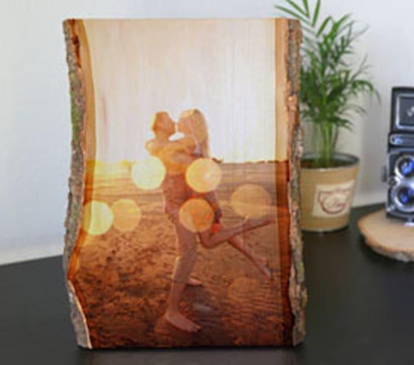 Rustic wood  - Large - Vertical