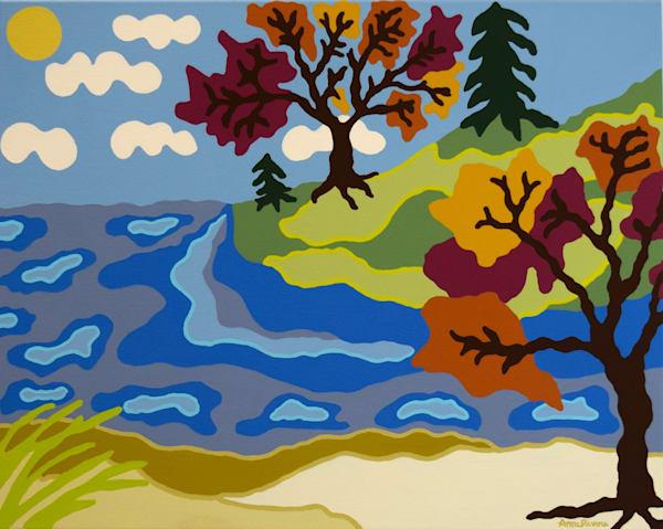 landscapes, art, autumn