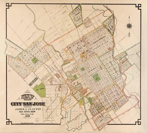 City of San Jose, 1886