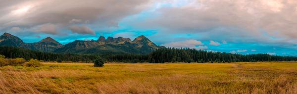 Fine Art Photograph Landscape panoramic In cordova alaska